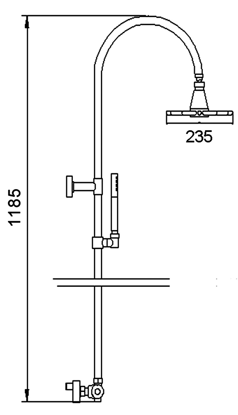 Technical Stop And Waste Valve Diagram