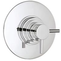 Dual Conc Thermostatic Shower Valve